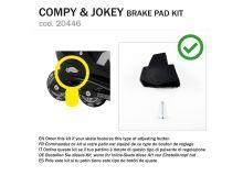KIT BRAKE PAD COMPY / JOKEY