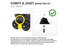 KIT BRAKE PAD JOKEY / COMPY