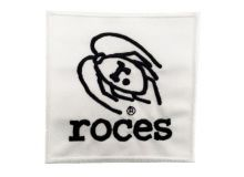 ROACH EMBROIDERED PATCH White