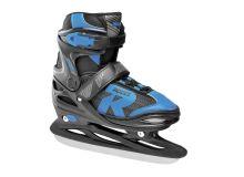 Adjustable Ice Skate for Kids-mod. JOKEY ICE 2.0 BOY Black-astro blue