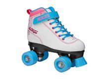 Roller Skate-mod. MOVIDA ART white-violet-blue